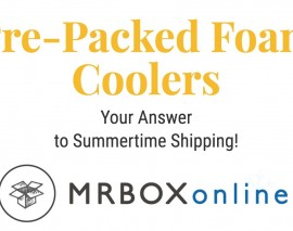 Pre-Packed Foam Coolers: Your Answer to Summertime Shipping