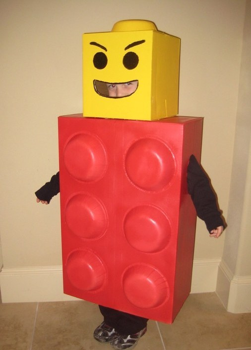 & Think Outside the Box for DIY Halloween costumes