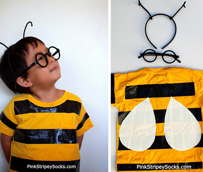 costume-duct-tape-bee  sc 1 st  MRBOXonline Blog & Think Outside the Box for DIY Halloween costumes