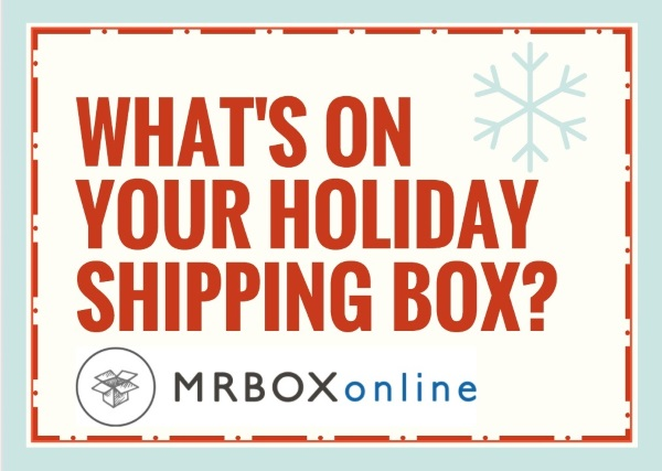 What's on your holiday shipment box?