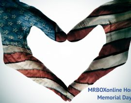 MRBOXonline Honors Memorial Day