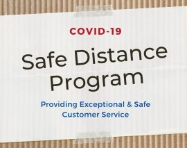 COVID-19 Safe Distance Program Lets You Shop MRBOX Safely